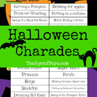 Download Halloween Charades
