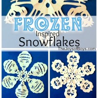 Frozen Snowflakes - Inspired by Disney's Frozen