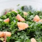 Salade de kale aux agrumes
