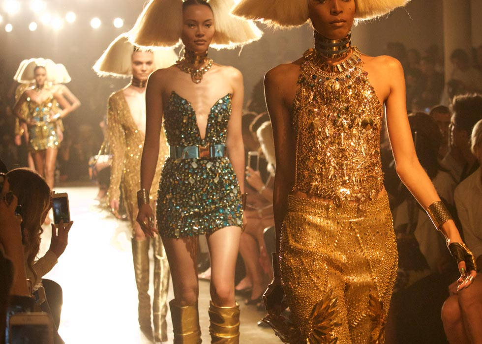 The Blonds Models on Runway New York Fashion Week SS'16
