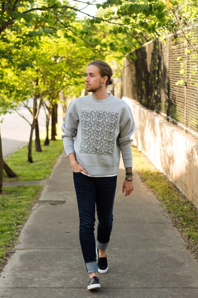 very perry, perry ellis, neoprene, neoprene sweatshirt, sweatshirt