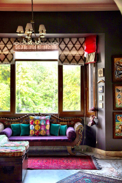 Aradhana Anand's bold and eclectic New Delhi home