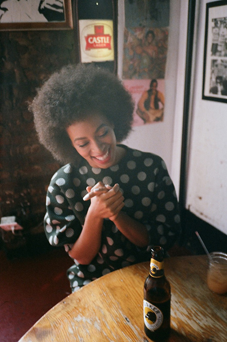 Natural hair- Afro- Solange- Happy Natural