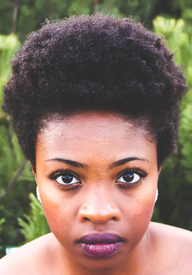 4C Kinky Natural Hair Afro