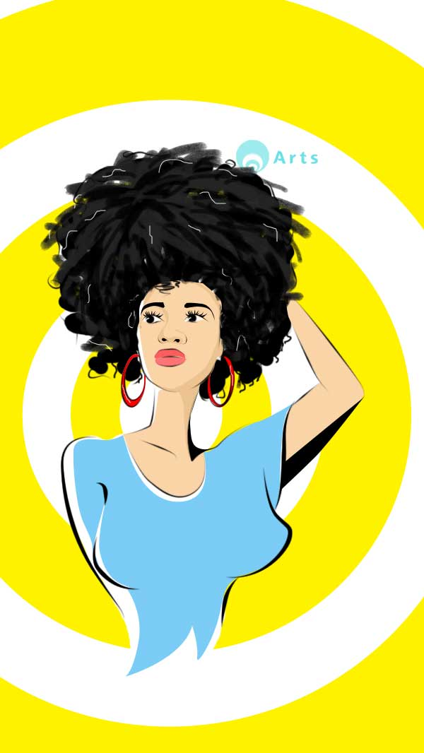 Chidalu Natural Hair Phone Case From Casenotes