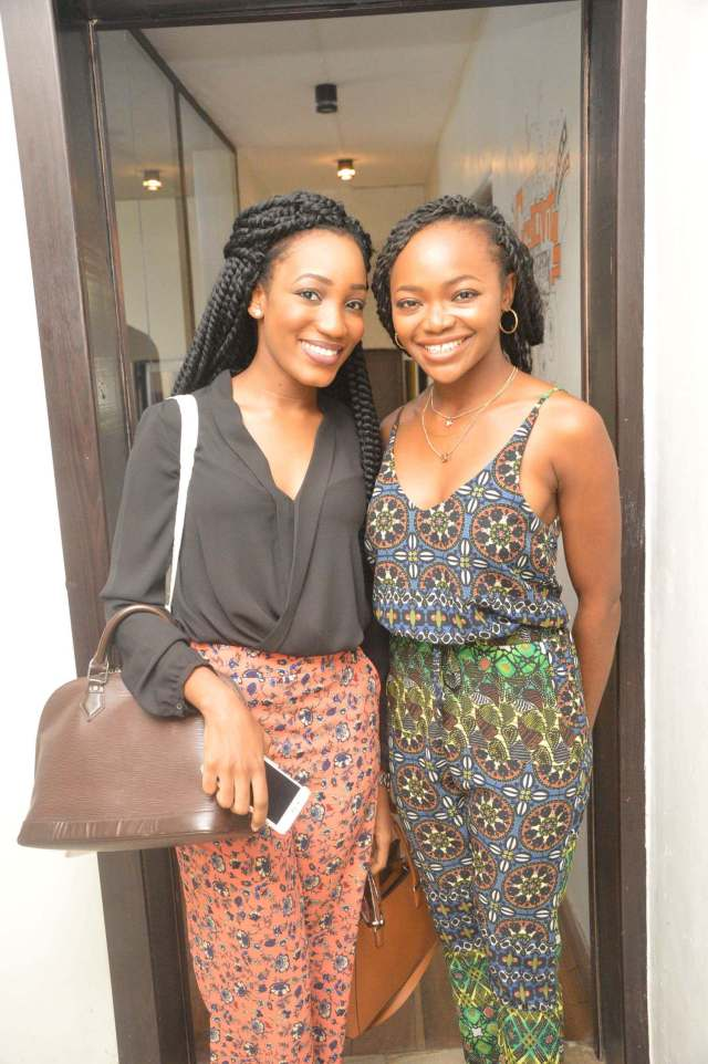 Oyime and Sandra were just glowing anyhow