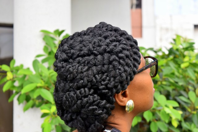 Naturals in the City- Protective Hairstyle with African Threading