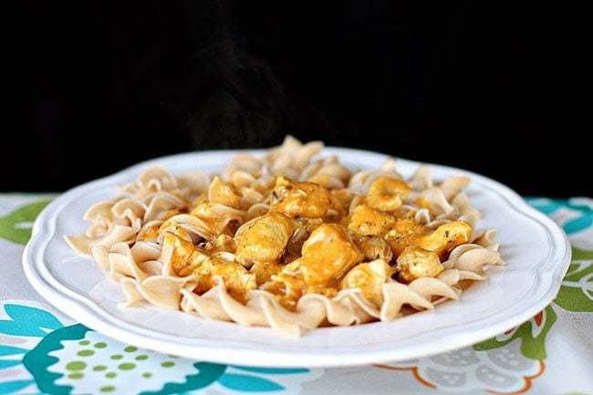 Chicken Korma Pasta