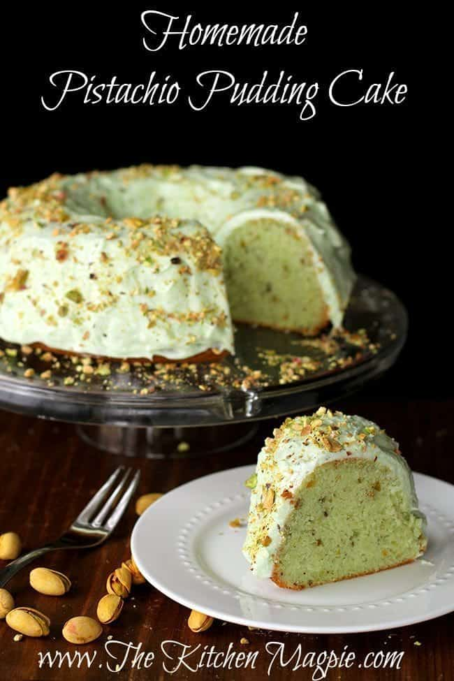 Pistachio Pound Cake Using Cake Mix