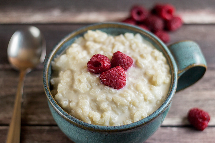Simple Rice Pudding (Reisbrei)