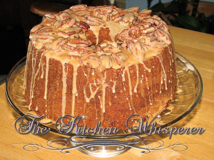 Sour cream Coffeecake with Cinnamon Pecan Streusel and Maple Pecan ...