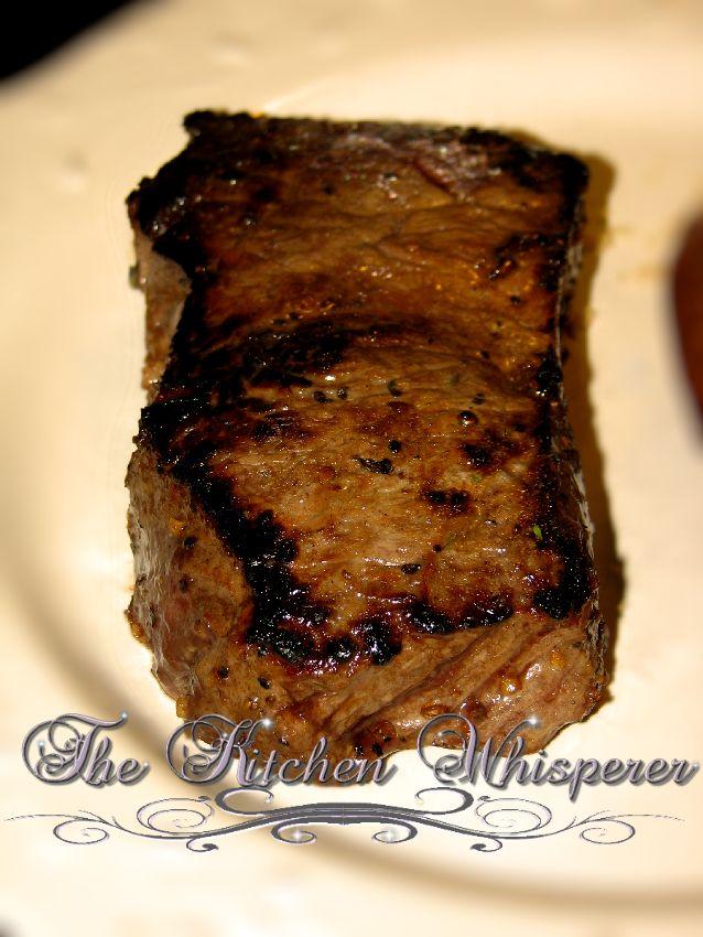 strip Baked new steak york