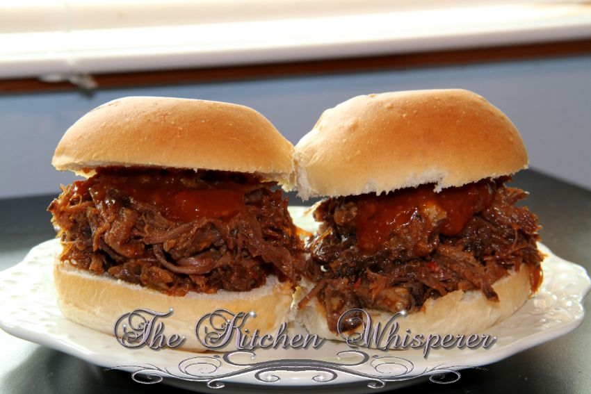 BBQ Boneless Beef Short Rib Sliders