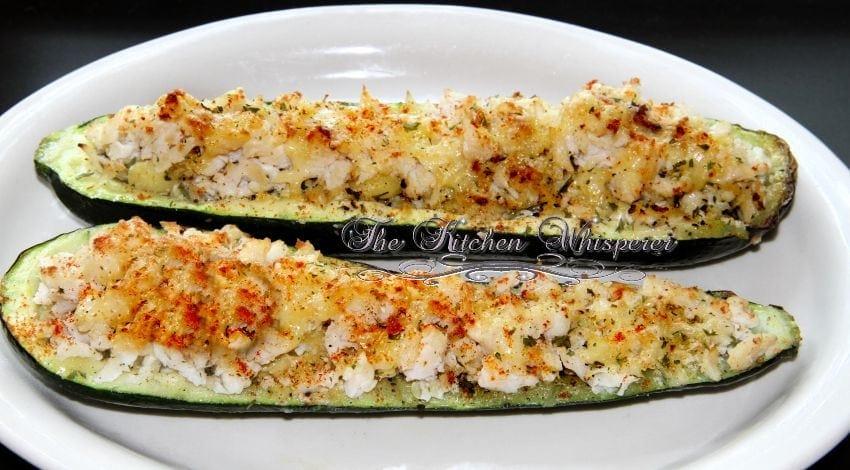 zucchini crab cakes tastes crab stuffed zucchini salmon stuffed crab ...