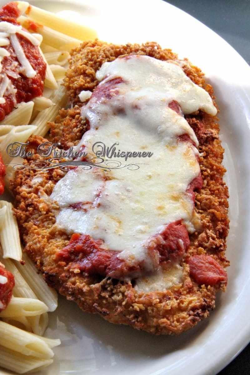 Gluten Free Crispy Chicken Parmesan