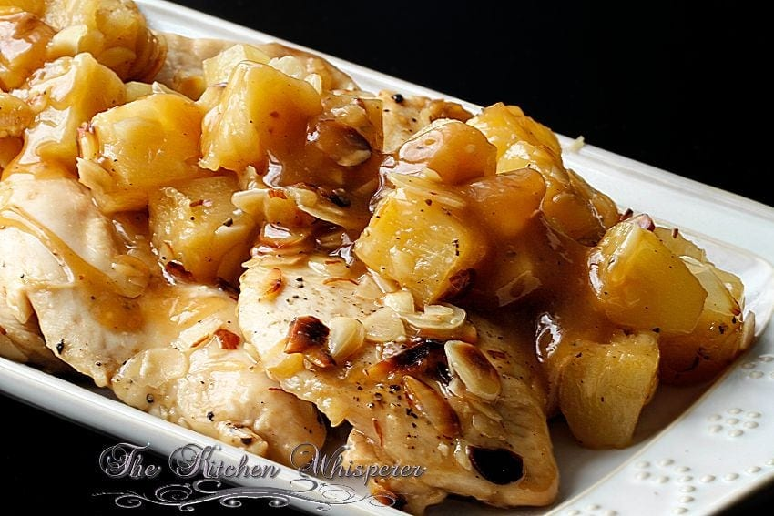 Baked Pineapple Almond Chicken4