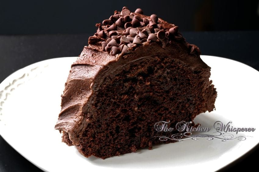 Sourcream Chocolate Bundt Cake5