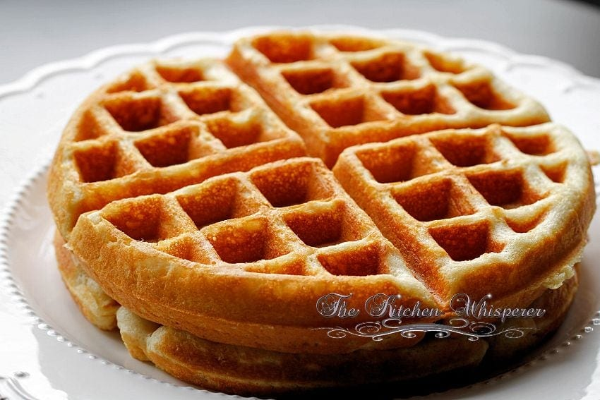 Best Ever Belgian Waffles in the World!