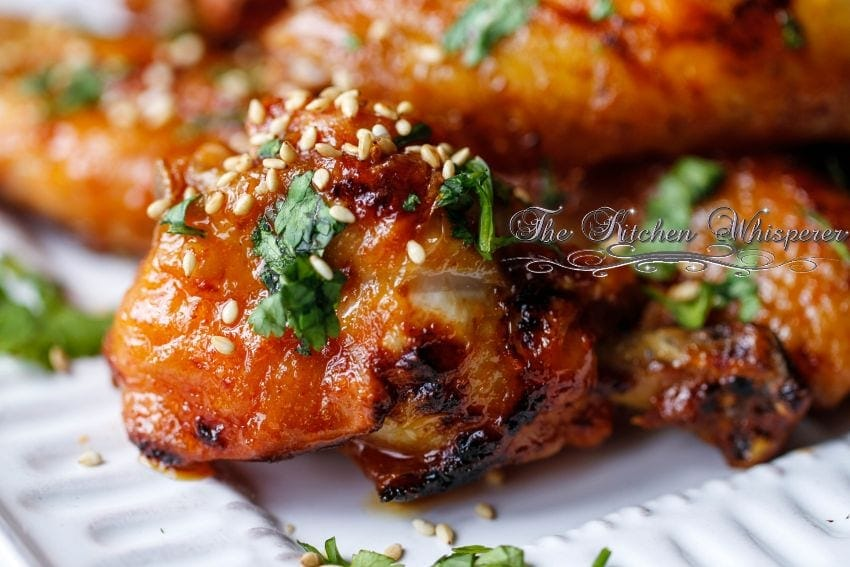 ... Honey Buttered Crispy Baked Oven Fried Wings are by fanfriggentastic