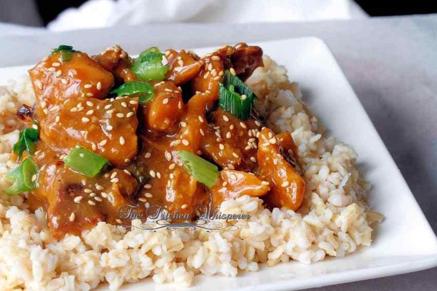 Honey Sessame Chicken3