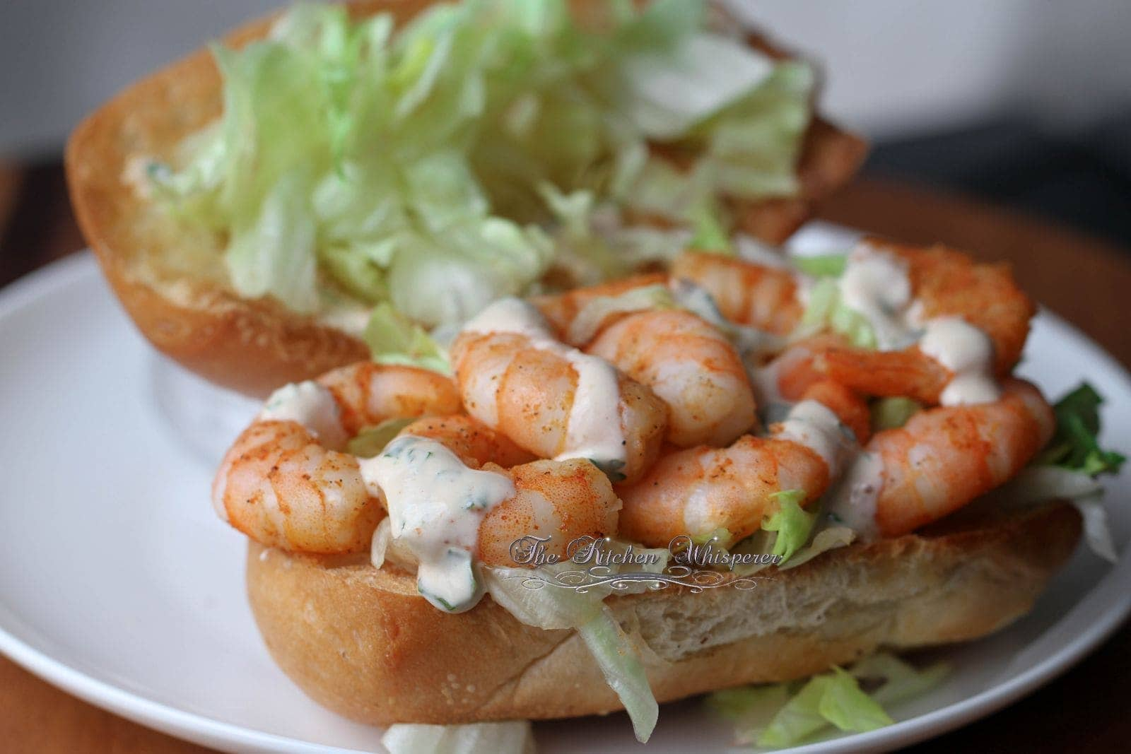 Cajun Shrimp Po'Boy