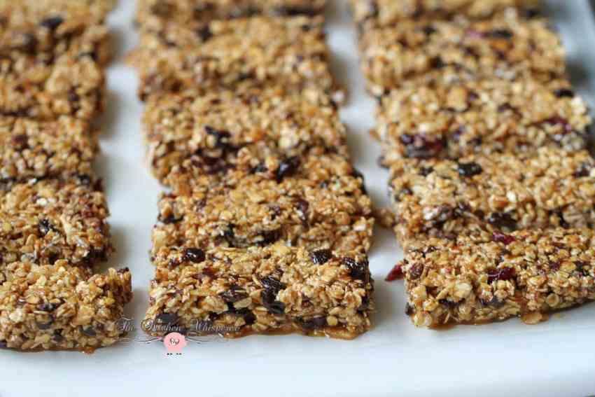 Skinny Peanut Butter Protein Granola Bars3