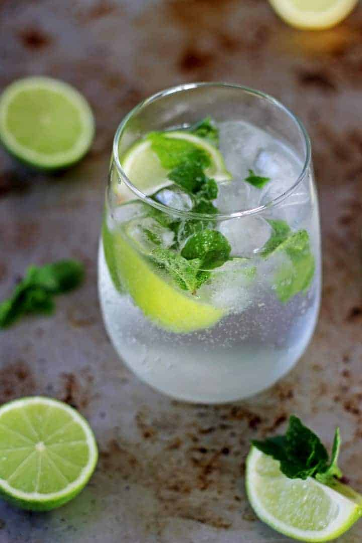 how to make sugar syrup for mojito drinks