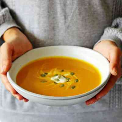 Thai Spiced Pumpkin Soup