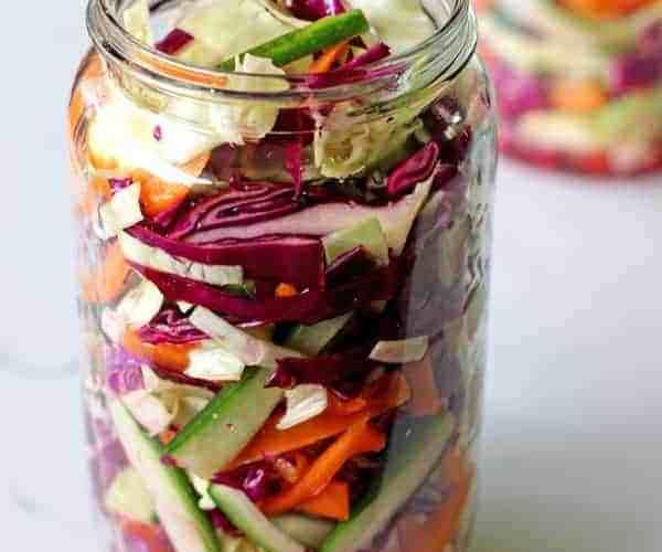 Quick Pickled Veges