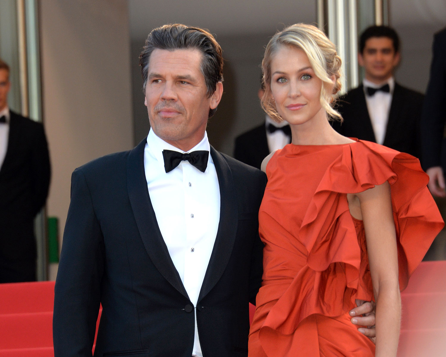 Josh Brolin Looks Back on His Wedding a Year Later  Photos Josh Brolin Kathryn