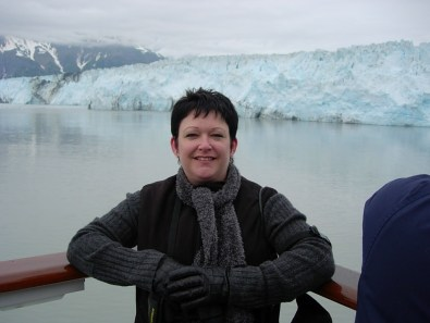 Tammy on an Alaskan Cruise.