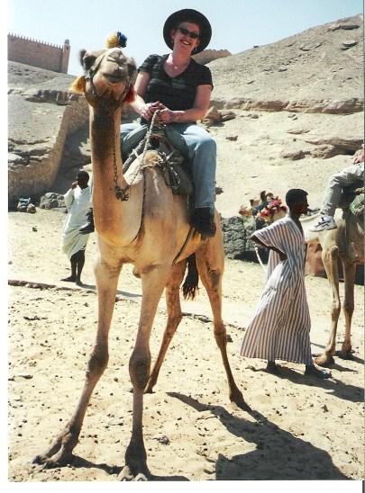 Tammy at Aswan, Egypt.
