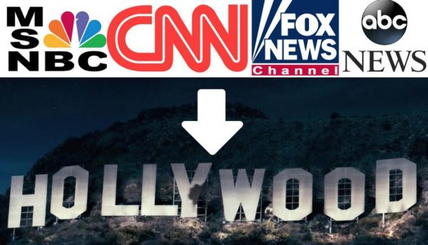 """Corporate Media Retreats To Hollywood As New """"Truth"""" Media Destroys False Narratives In Real Time"""