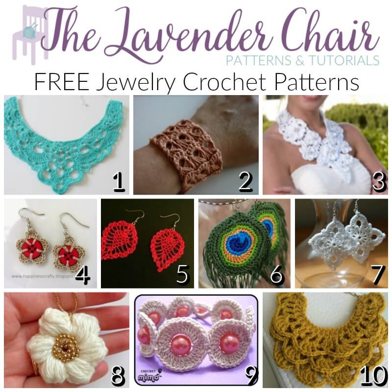 Crochet Patterns Free Jewelry : Crochet Stocking Stuffer Ideas (50+ Patterns) - The ...