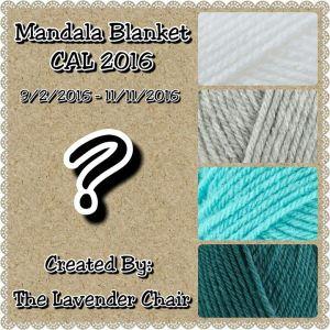 Mandala Blanket CAL - The Lavender Chair
