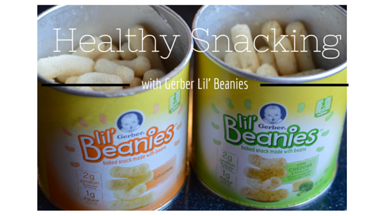 Healthy Snacking with Gerber Liil' Beanies