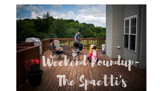 Weekend Roundup- 10/16/16 The Spaetti's