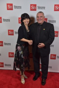 "Premier of the documentary ""Rudy Ruettiger: The Walk On,"" chronicling his persistence as a key to success"