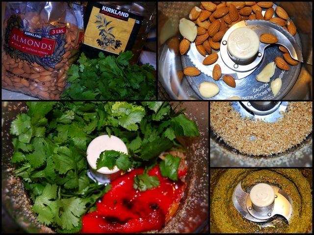 src1 Cilantro & Roasted Red Pepper Pesto