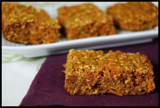 2 Recipe Remix: Gluten Free Zucchini Carrot Apple Bars
