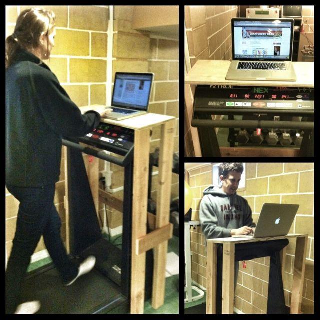 IMG 3633 Treadmill Laptop Stand