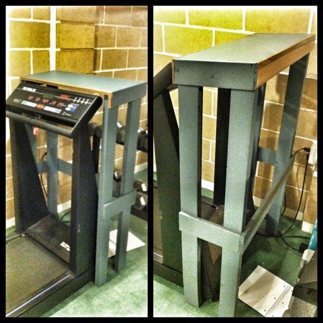 IMG 3641 Treadmill Laptop Stand