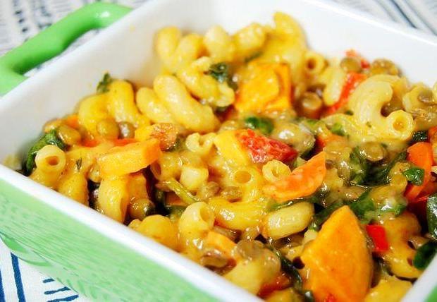 mac4 Lentil Veggie Mac & Cheese