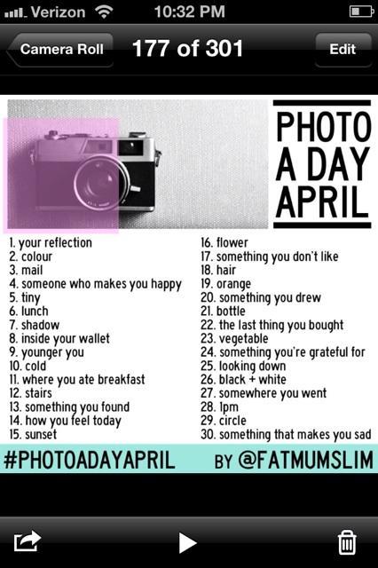 photo 3 April Photo A Day: Part 1