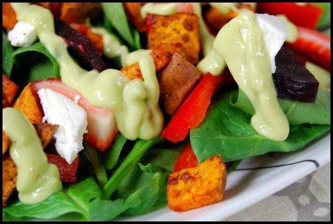 salad5 Ginger Citrus Avocado Dressing