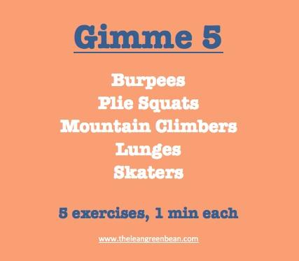 gimme5 Fitness Friday 20