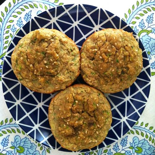 laura2 Coconut Banana Zucchini Muffins