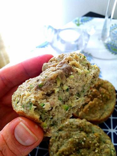 laura4 Coconut Banana Zucchini Muffins