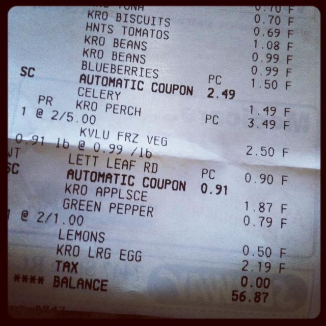photo 270 #surviveon35: Menu Planning & Grocery Shopping