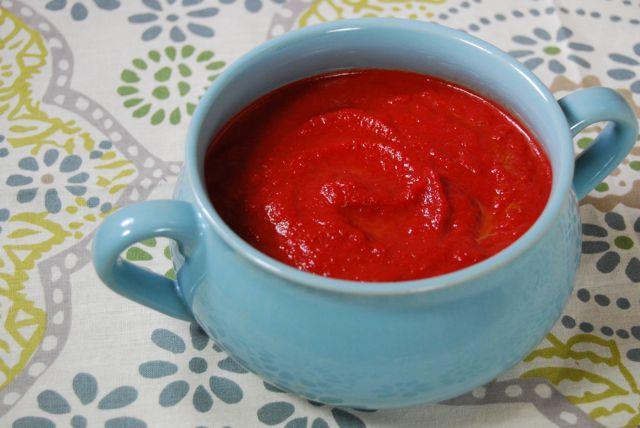 DSC 0363 Roasted Beet & Avocado Soup